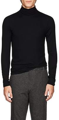 ATM Anthony Thomas Melillo Men's Rib-Knit Fitted Turtleneck Top