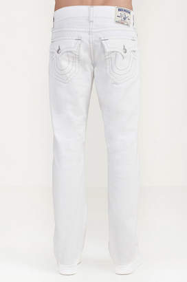 True Religion STRAIGHT WHITE MENS JEAN