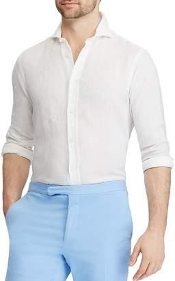 Polo Ralph Lauren Linen Classic Fit Button-Down Shirt