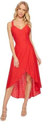 J.o.a. Lace Tulip Hem Open Back Dress Women's Dress