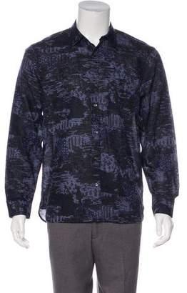 Burberry Linen-Blend Shirt