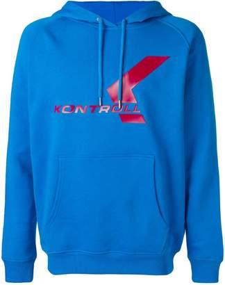 Kappa Kontroll logo print hoodie