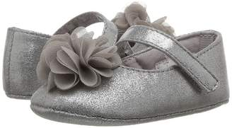 Baby Deer Soft Sole Dress Flat with Flower Girl's Shoes