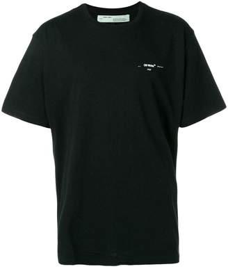 Off-White coloured arrow-print T-shirt