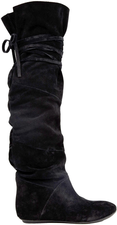 House Of Harlow 1960 Talia Suede Knee High Boot