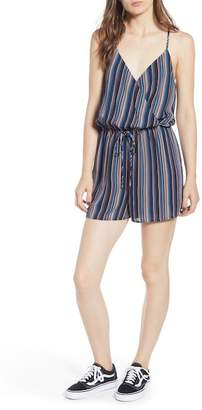 One Clothing Faux Wrap Romper
