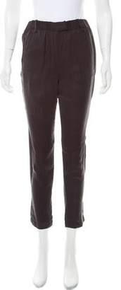 Etoile Isabel Marant Mid-Rise Straight-Leg Pants