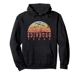 Edinburg Texas Retro Vintage Sunset Hoodie