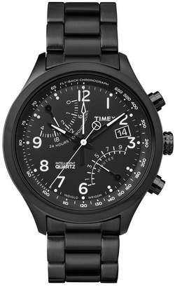 Timex Men's IQ Fly-Back Bracelet Watch, 43mm