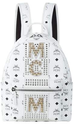 MCM Small Dual Stark Embellished Backpack