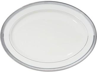 Mikasa Platinum Crown Oval Serving Platter