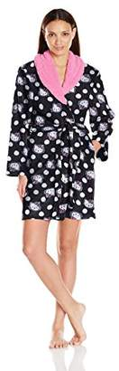 Hello Kitty Women's Pretty in Plush Robe $38 thestylecure.com