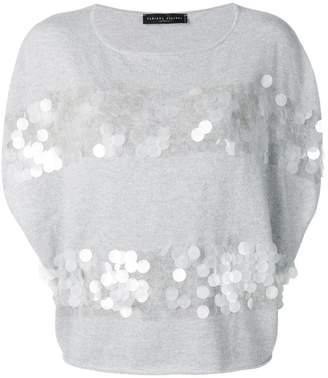 Fabiana Filippi embellished cashmere top