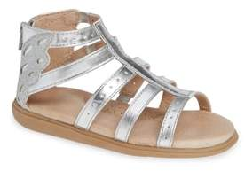 SOLE PLAY Camille Metallic Sandal