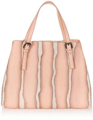 Bottega Veneta Intrecciato Glimmer Tote Bag