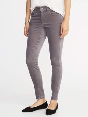 Old Navy Mid-Rise Rockstar Super Skinny Velvet Pants