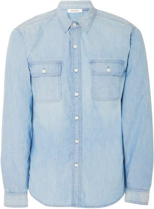 Frame Faded Chambray Shirt