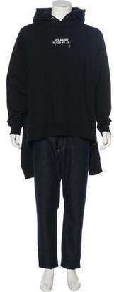 Hood by Air Layered-Accented Hoodie