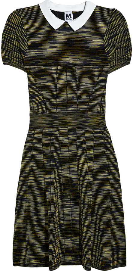 M Missoni Collared knitted dress