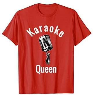 Karaoke Queens Karaoke T Shirt for Girls Who Love to Sing