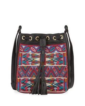 Johnny Was Etienne Embroidered Crossbody Bag