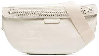 Stella McCartney ivory Falabella Go faux leather belt bag