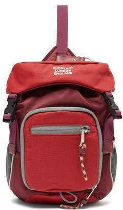 Burberry Mini Cross Body Backpack - Mens - Red Multi