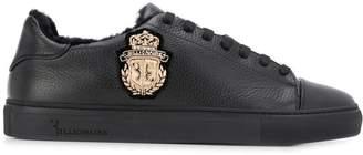 Billionaire fur trim sneakers