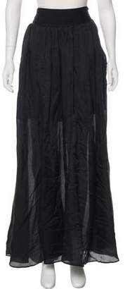 Theyskens' Theory Woven Maxi Skirt w/ Tags
