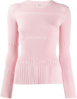 Kenzo ribbed knit sweater