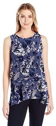 Lark & Ro Amazon Brand Women's Sleeveless High-Low Top