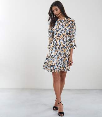 Reiss Molly Printed Mini Dress