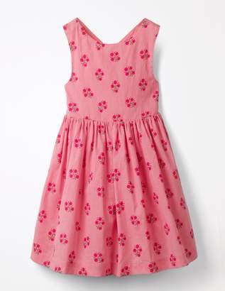 Boden Cross-Back Printed Dress