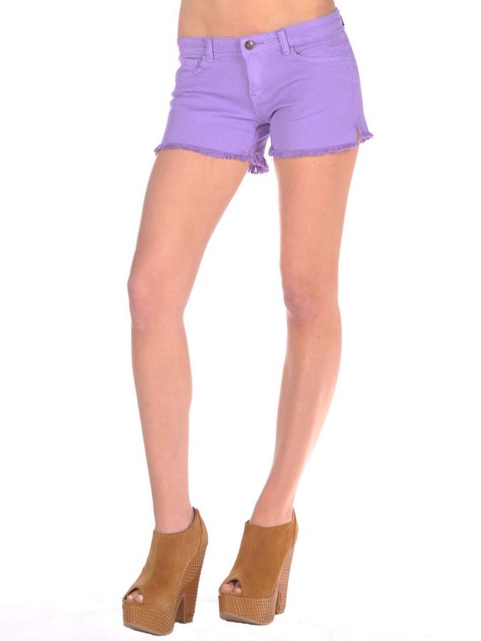 Butter Frayed Denim Shorts