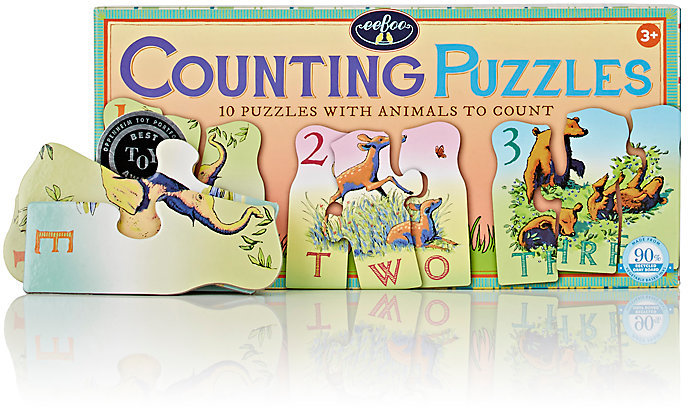 Eeboo EEBOO ANIMAL COUNTING PUZZLES
