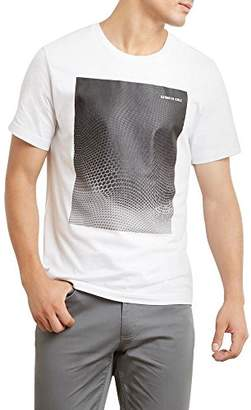 Kenneth Cole New York Men's Ombre Hexagon Tee