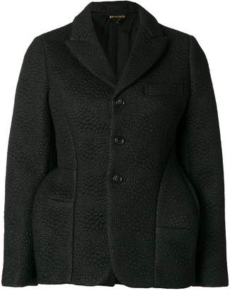 Comme des Garcons textured structured blazer