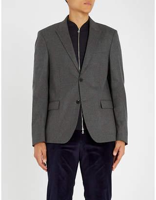 Joseph Regular-fit single-breasted wool jacket