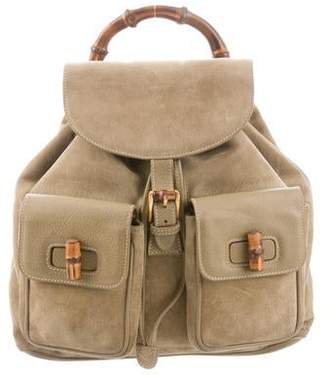 a18d39249 Gucci Bamboo Backpack - ShopStyle