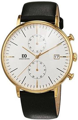 Danish Design (ダニッシュ デザイン) - デンマークデザインiq11q975メンズクロノグラフゴールドメッキ時計