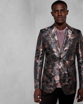 Ted Baker EXPLO Global floral jacquard jacket