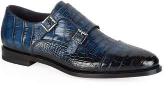 Santoni Croc Monk Shoe