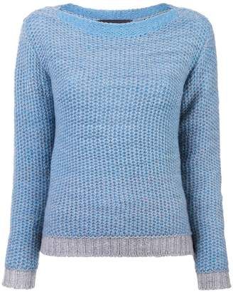 The Elder Statesman textured knit sweater