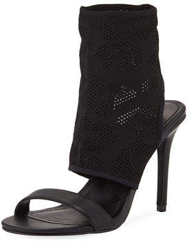 Charles by Charles David Remote Stretch Knit Bootie Sandal