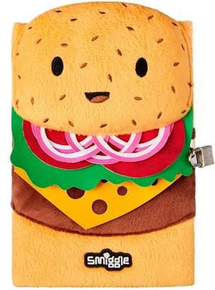 Smiggle Burger A5 Lockable Notebook