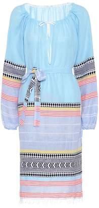 Lemlem Sofia cotton-blend tunic dress