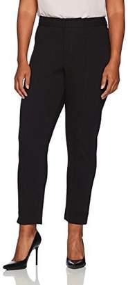 NYDJ Women's Size Plus Ponte Ankle Pant