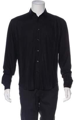 Saint Laurent Twill Button-Up Shirt