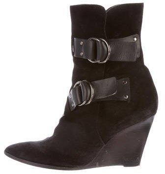 Balenciaga Balenciaga Wedge Ankle Boots