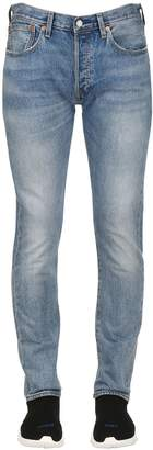 Levi's 501 Skinny Washed Denim Jeans